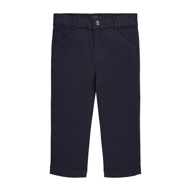 Classic Twill Pant, Navy - Pants - 1