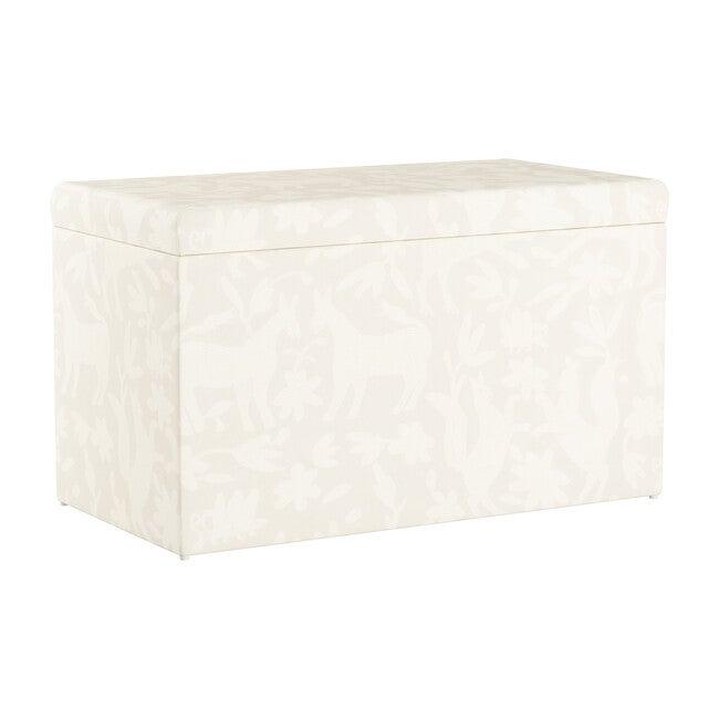 Palmer Storage Bench, Cotton Pinata