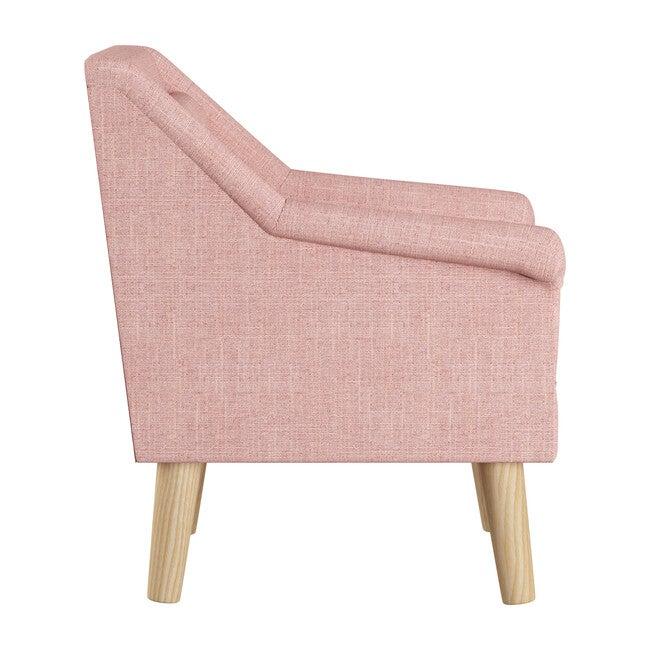 Finn Chair, Rose Quartz Linen