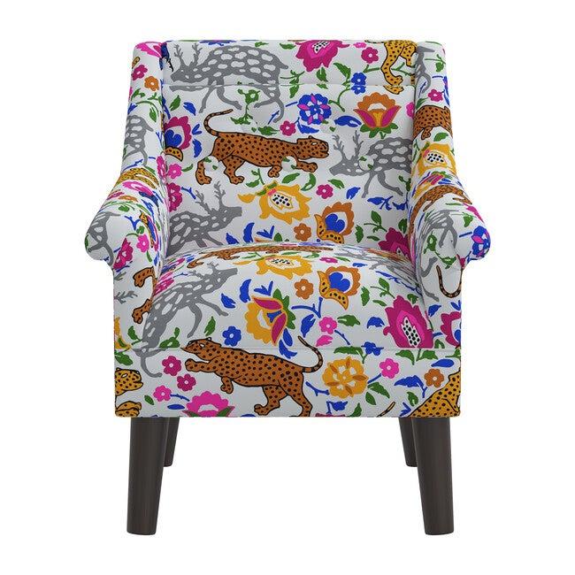 Finn Kids' Chair, Cool Multi Leopard