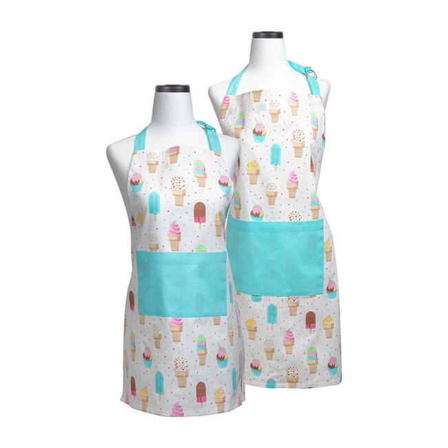 Ice Cream Parlor Adult and Youth Apron Boxed Set