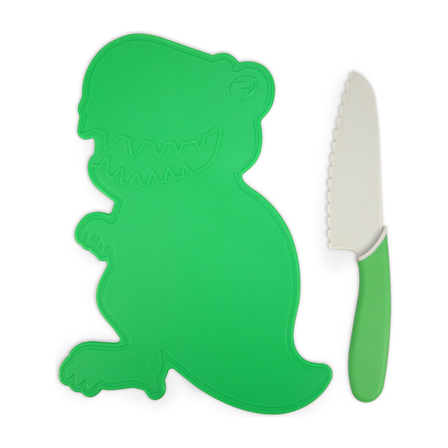 Dinosaur Cutting Board & Knife Set