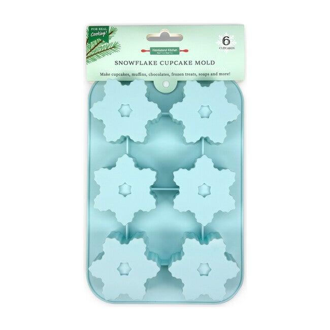 Winter Wonderland Snowflake Cupcake Mold