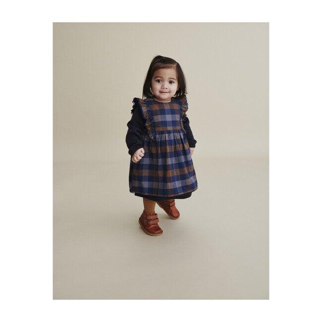 April Dress, Black Iris Blue