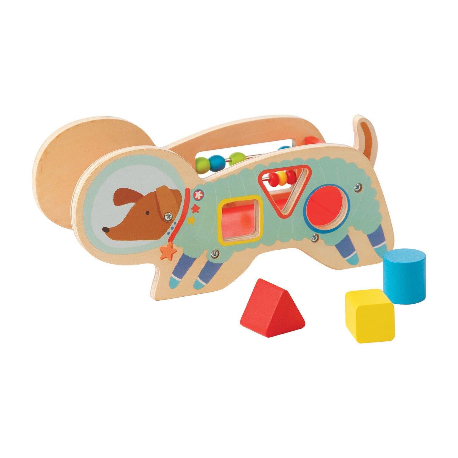 Wood Shaper Sorter Space Dog