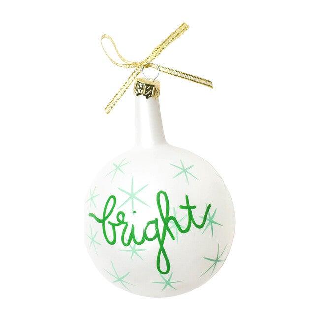 Christmas Sprits Bright Ornament, Mint Star