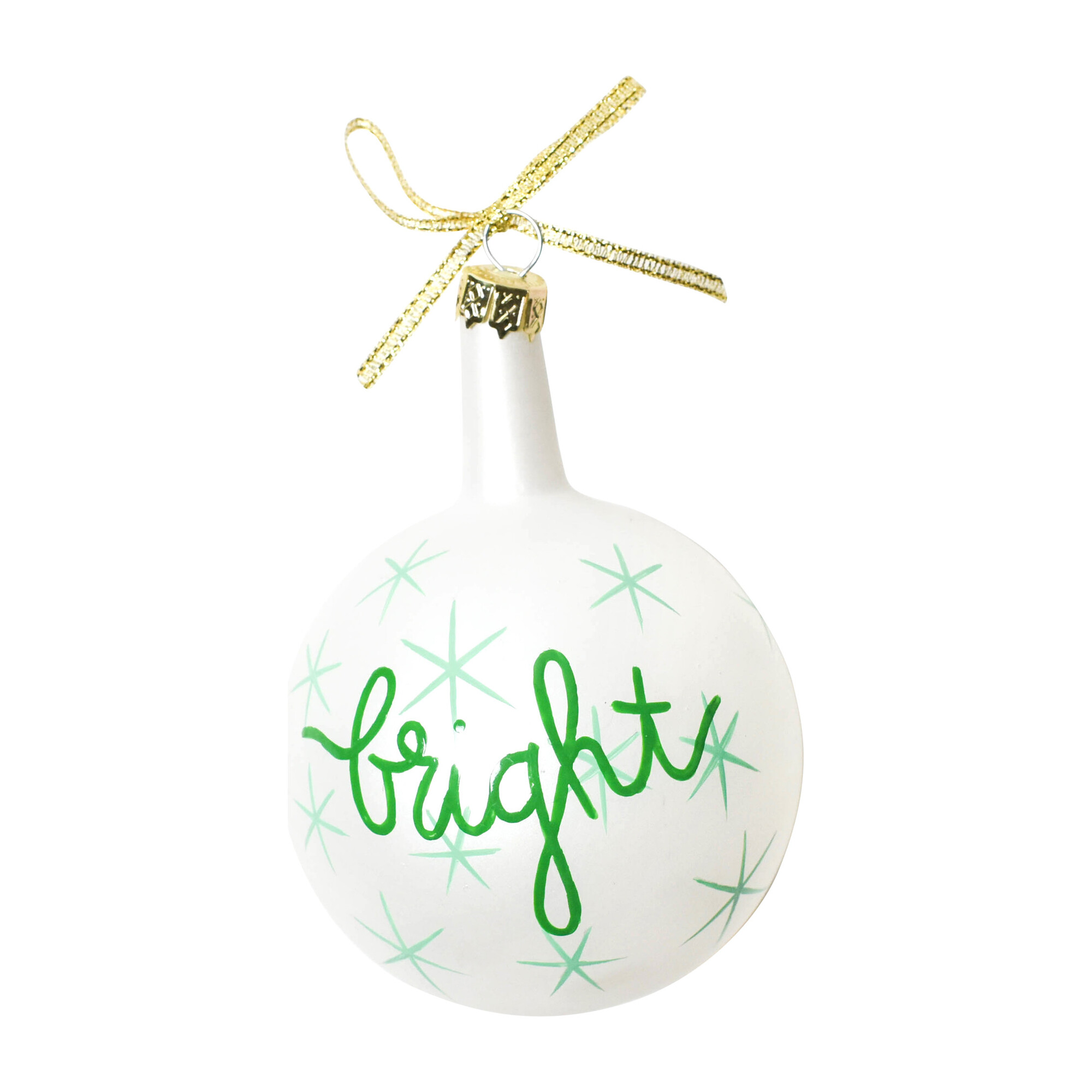 Christmas Sprits Bright Ornament, Mint Star