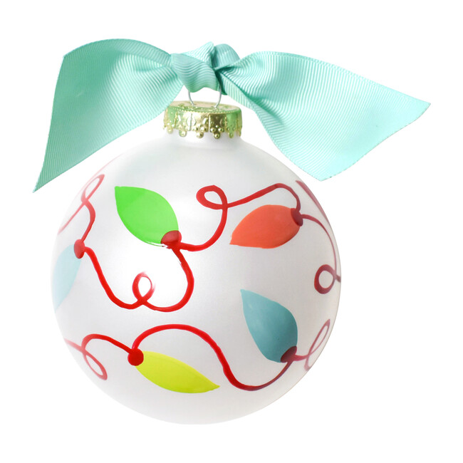 Twinkle Lights Ball Ornament, Multi