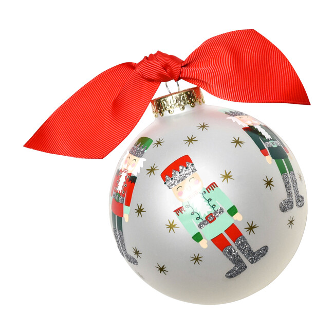 Nutcracker Ball Ornament, Multi