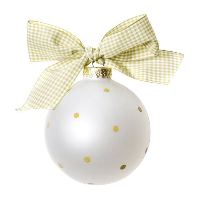 Silhouette Ball Ornament, Boy