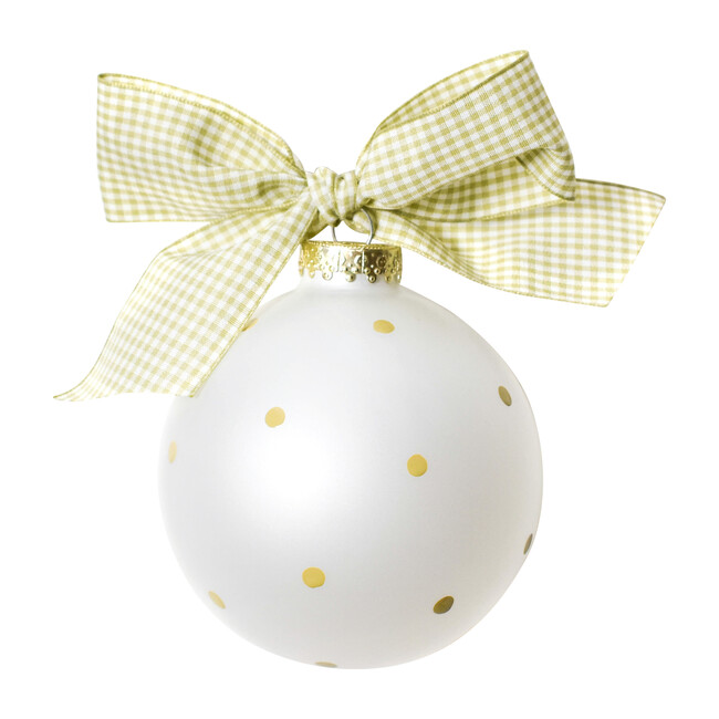 Silhouette Ball Ornament, Girl