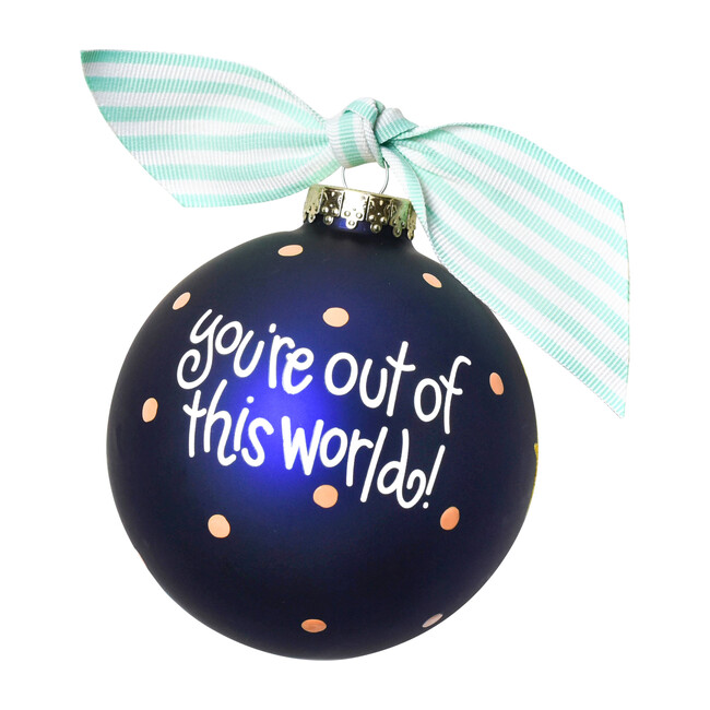 Outer Space Ball Ornament, Multi