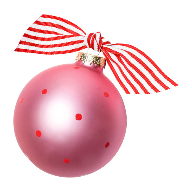 My First Christmas Ornament, Pink