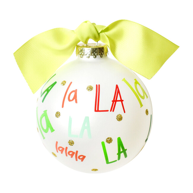 Fa La La Ball Ornament, Multi
