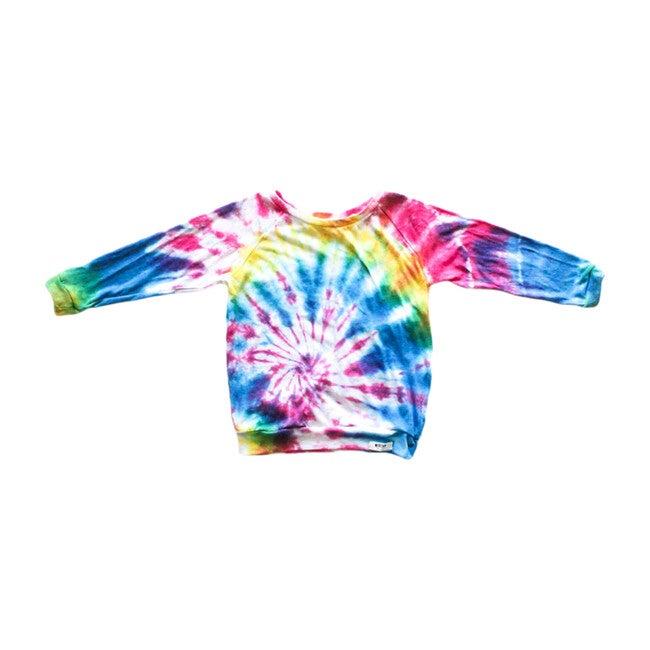 Raglan, Multicolor Tie Dye