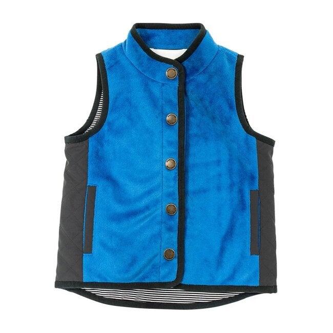 Lightweight Everyday Vest, Blue - Vests - 1