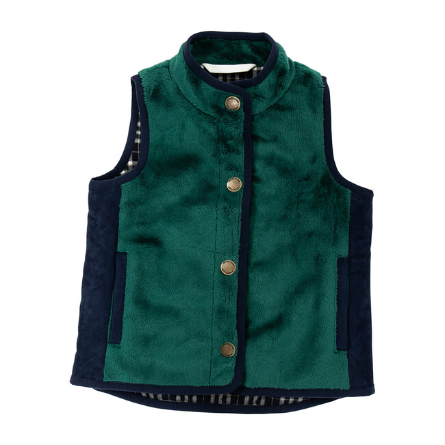 All-Season Vest, Green - Vests - 1