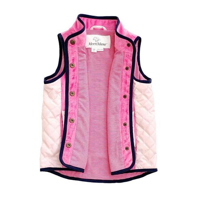 Lightweight Everyday Vest, Pink