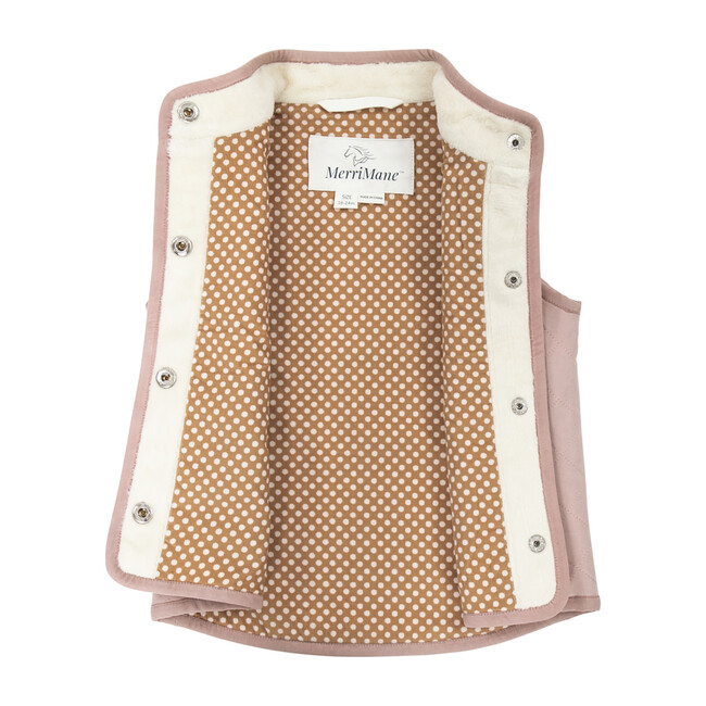 All-Season Vest, Cream