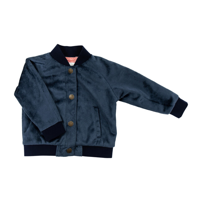 The Lightweight Bomber Jacket, Navy - Jackets - 1