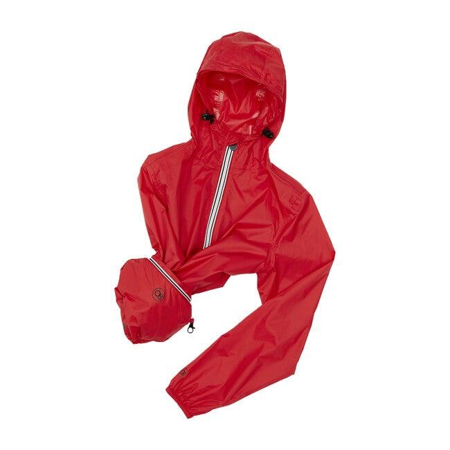 Women's Sloane Packable Rain Jacket, Red