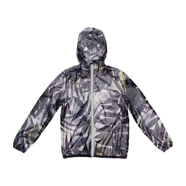 Women's Sloane Print Packable Rain Jacket, Palm Print