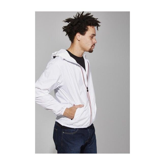 Men's Max Packable Rain Jacket, White