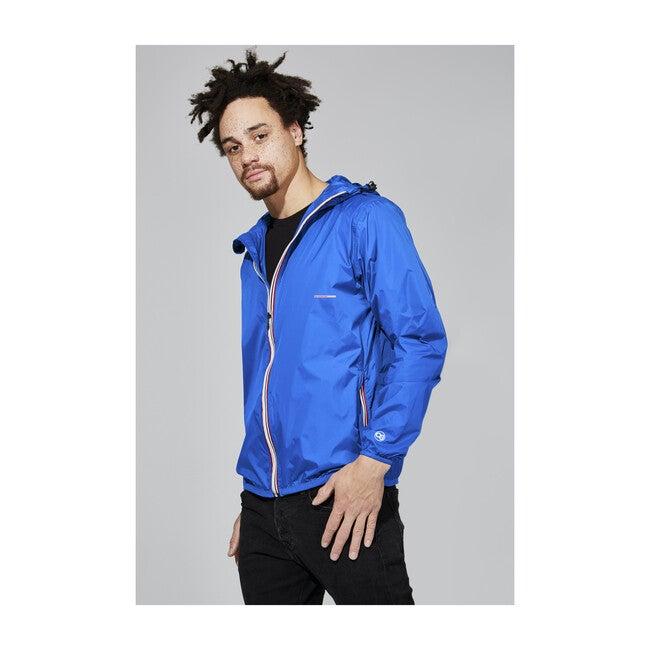 Men's Max Packable Rain Jacket, Royal Blue