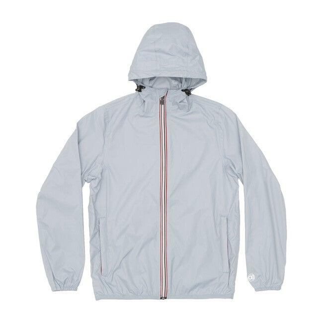 Men's Max Packable Rain Jacket, Celestial Blue