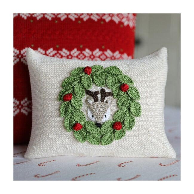 Peekaboo Deer Mini Pillow