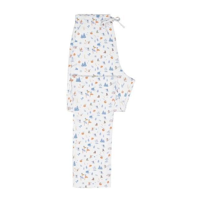 Womens Pajama Set, Morning Ski