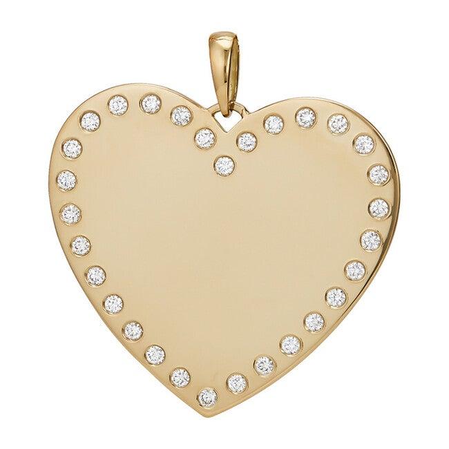 Diamond Heart Charm SM