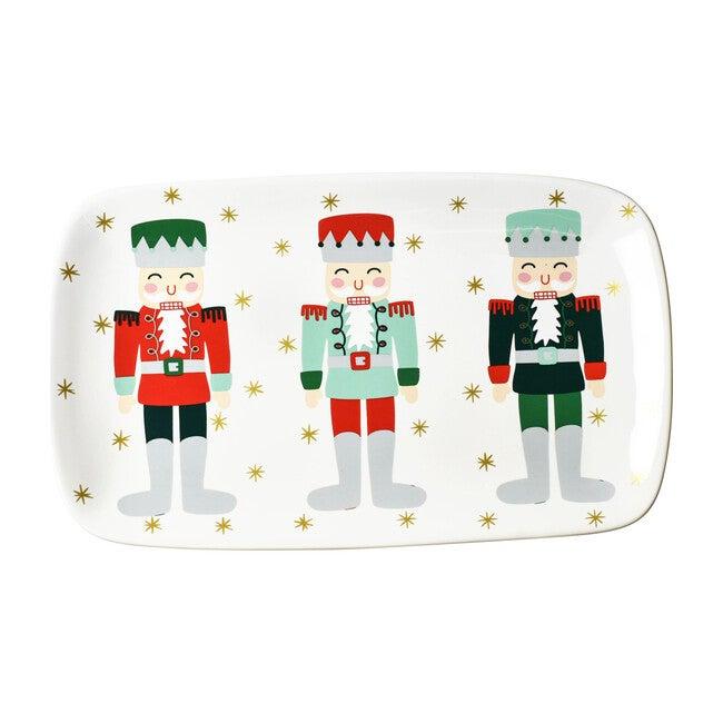 Holiday Rectangle Tray, Nutcracker