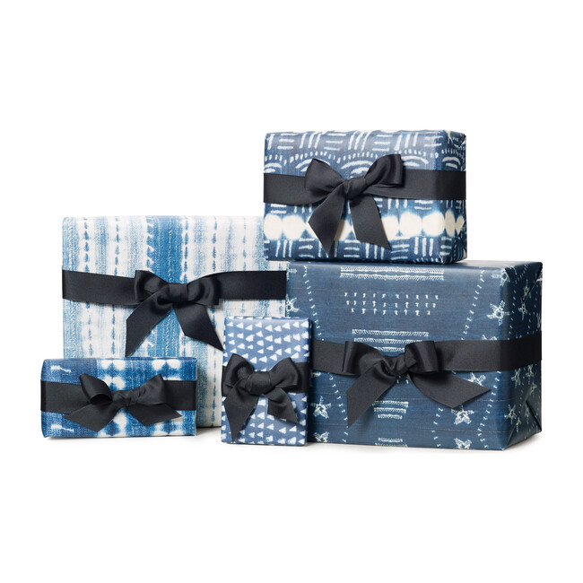 Holiday Wrapping Paper, Indigo