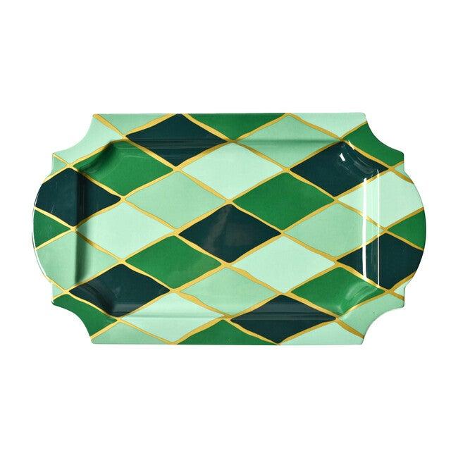 Diamond Tray, Emerald