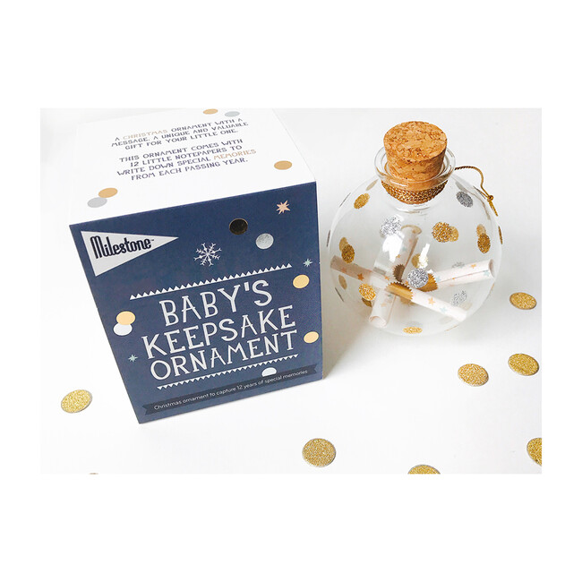 Baby's Keepsake Ornament - Keepsakes & Mementos - 1