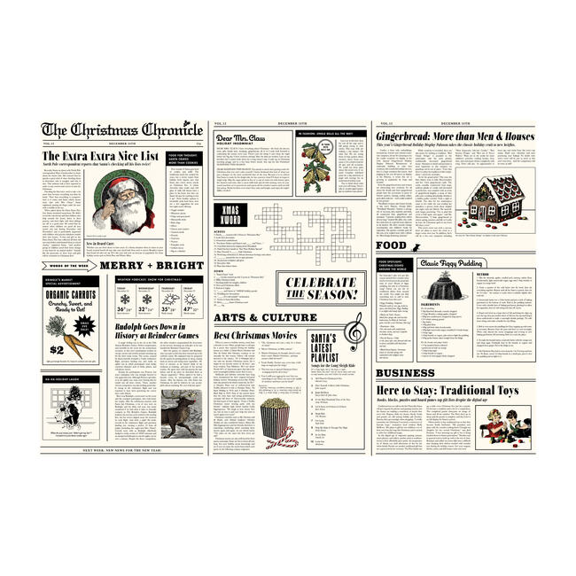 The Christmas Chronicle Gift Wrap