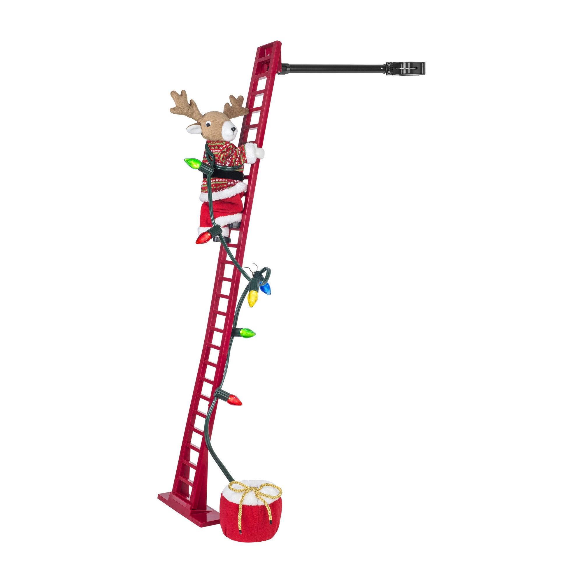 Super Climbing Reindeer