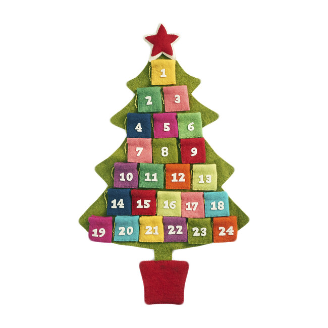 Tree Advent Calendar, Multicolor - Advent Calendars - 1 - zoom