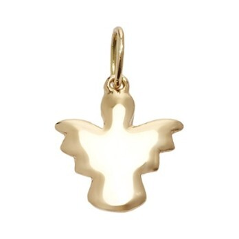 14k Gold Angel Charm