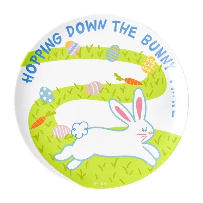 Bunny Trail Melamine Plate