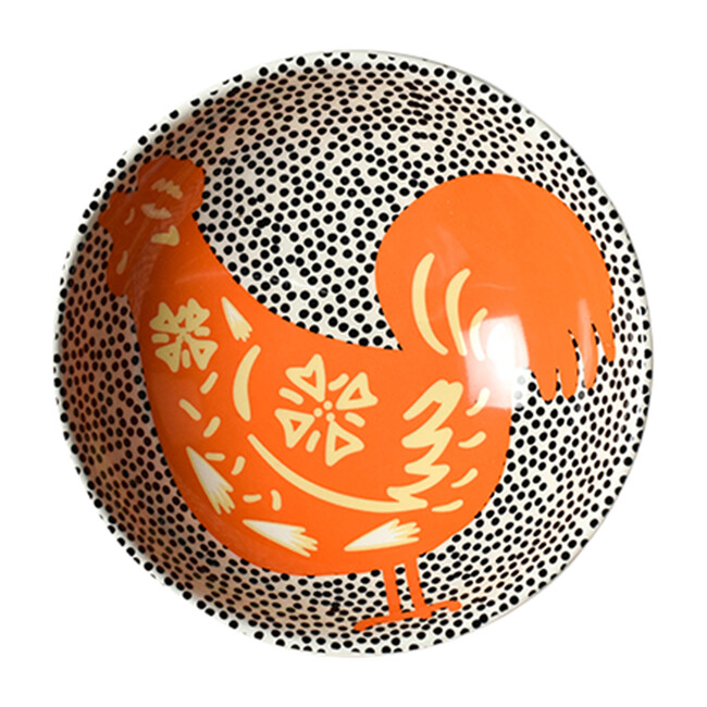 Chinese Zodiac Bowl Accent Bowl, Rooster