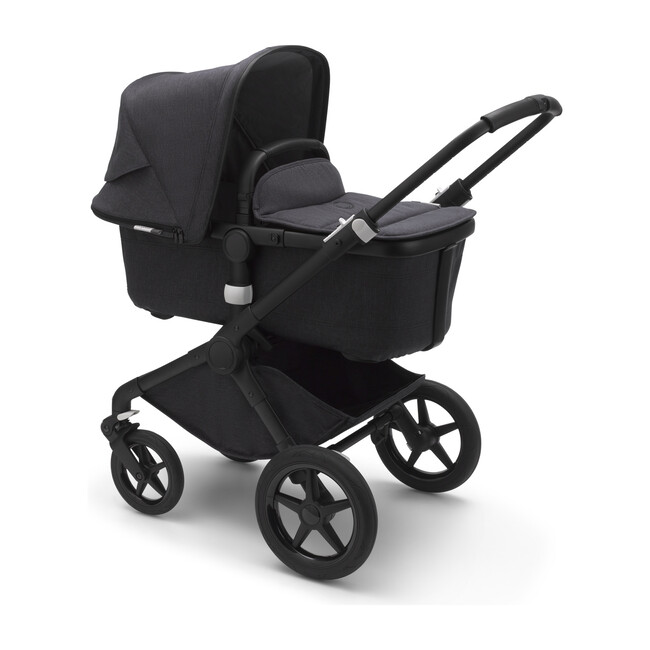 Bugaboo Fox2 Mineral Complete, Black Base & Washed Black Fabrics