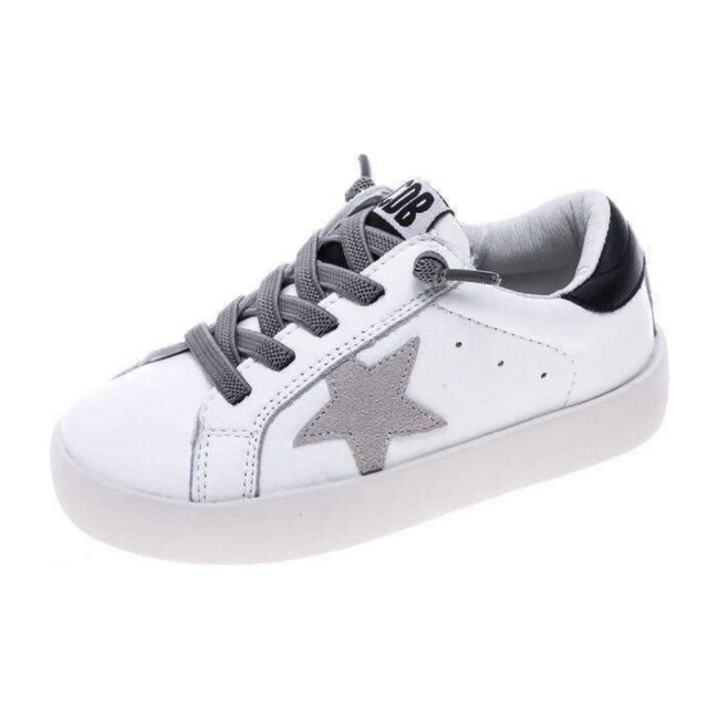 Starboy Sneakers, Grey & White