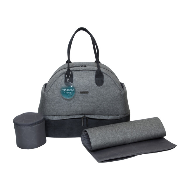Duet Diaper Bag with Changing Mat and Travel Cooler