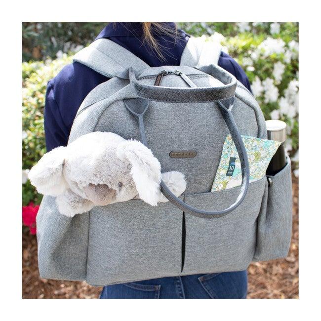 Bebe Backpack Diaper Bag and Changing Mat