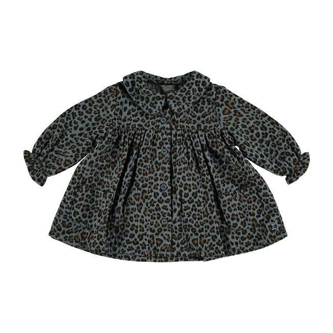 Animal Print Dress, Grey