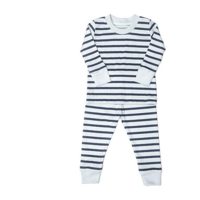Stripes Pajama, Blue
