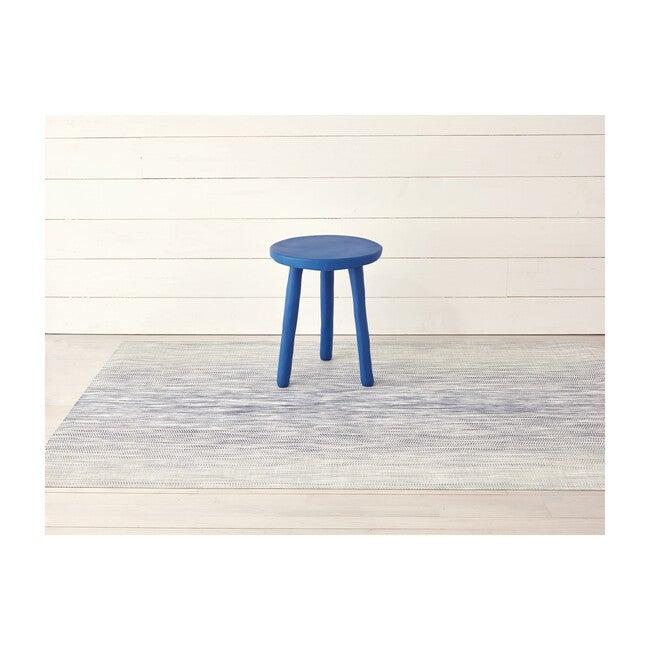 Wave Floor Mat, Blue