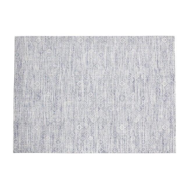 Mosaic Floor Mat, Blue
